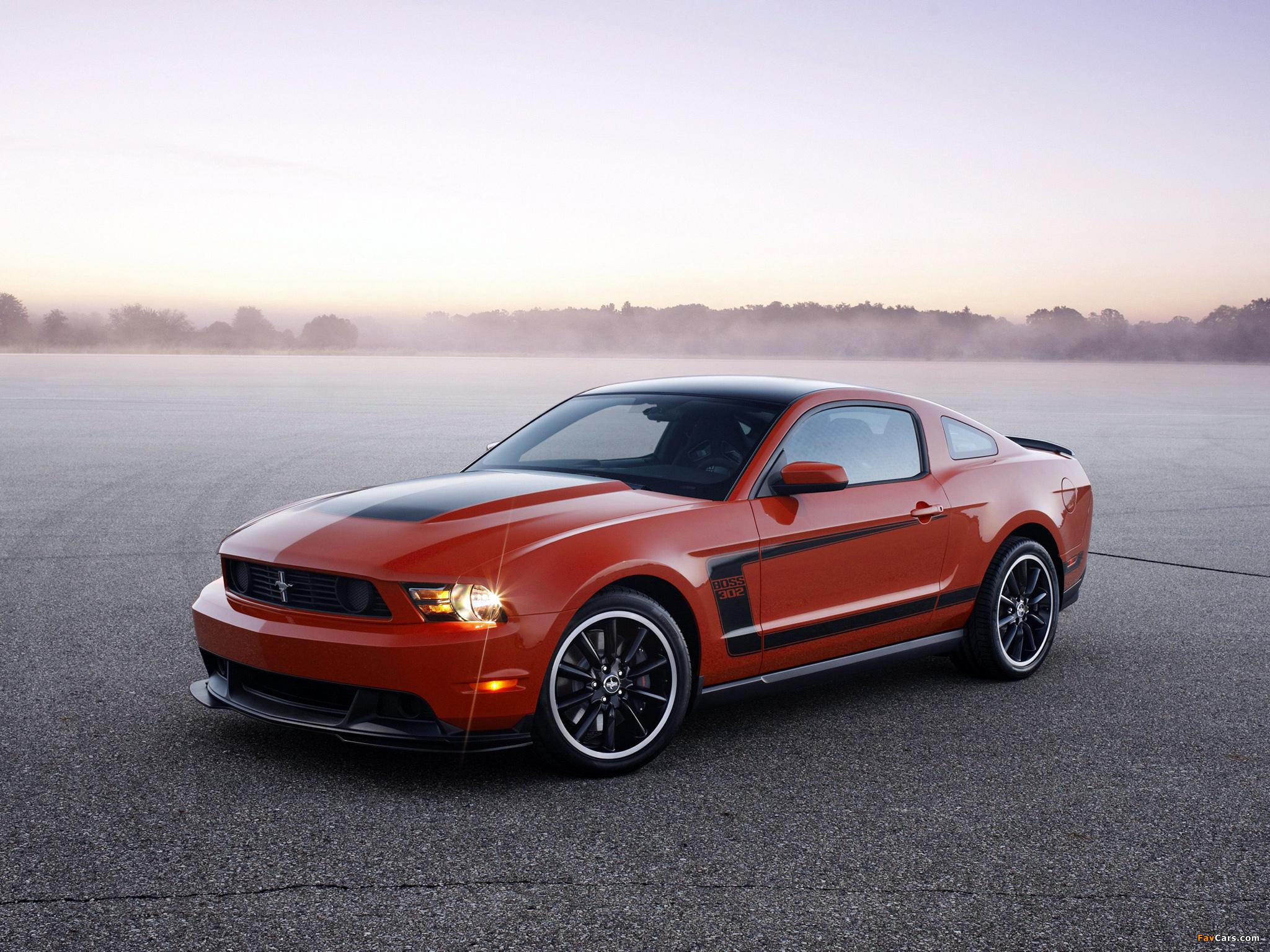 Mustang Boss 302 2011–12 images (2048 x 1536)