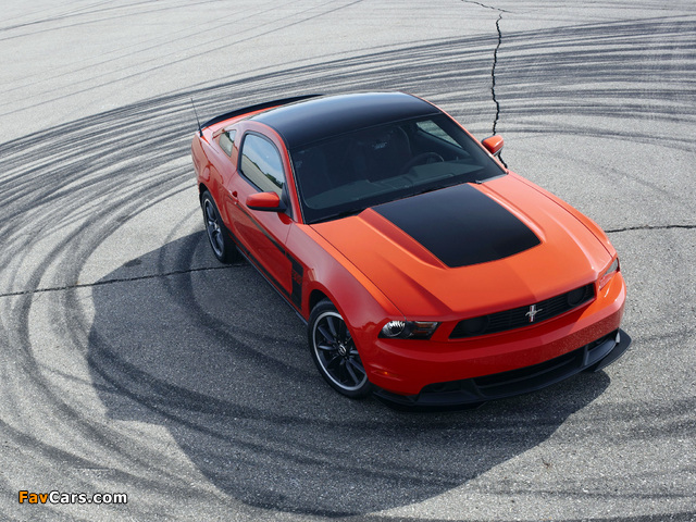 Mustang Boss 302 2011–12 pictures (640 x 480)