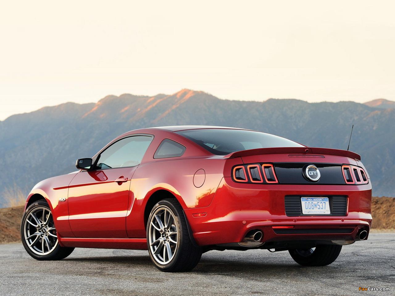Mustang 5 0 Gt 2012 Wallpapers 1280x960