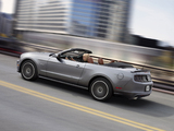 Mustang 5.0 GT Convertible 2012 wallpapers