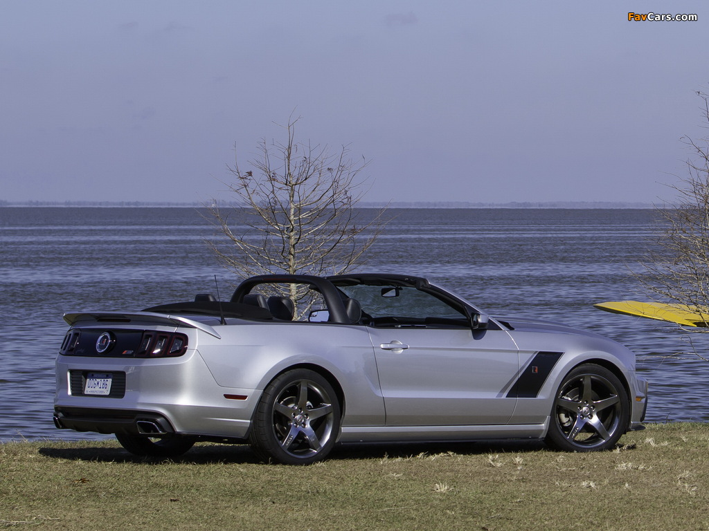 Roush Stage 3 Convertible 2013 photos (1024 x 768)