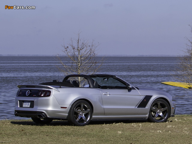 Roush Stage 3 Convertible 2013 photos (640 x 480)