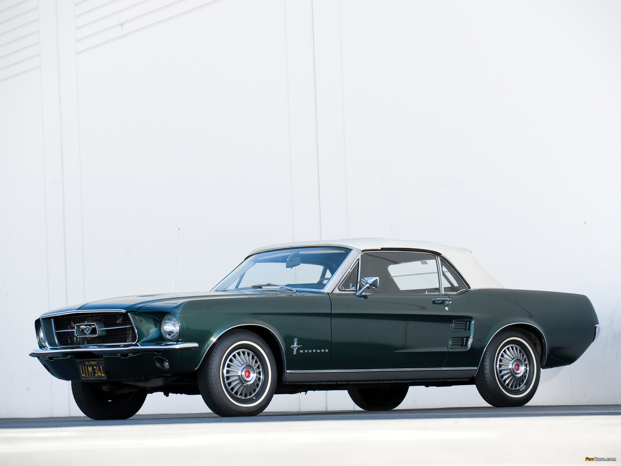 Images of Mustang Convertible 1967 (2048 x 1536)