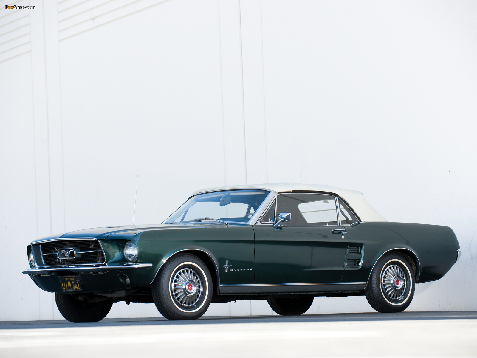 Images of Mustang Convertible 1967 (1600 x 1200)