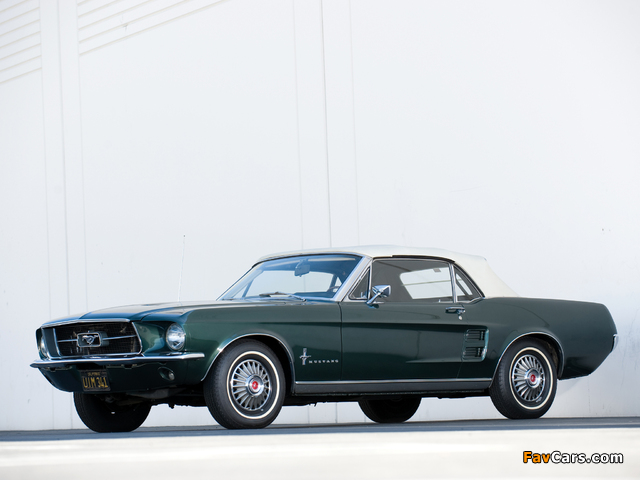 Images of Mustang Convertible 1967 (640 x 480)