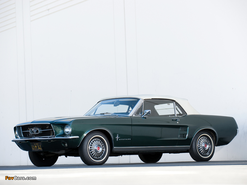 Images of Mustang Convertible 1967 (800 x 600)