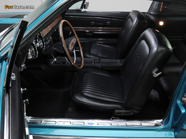 Images of Mustang GT Fastback 1968 (640 x 480)