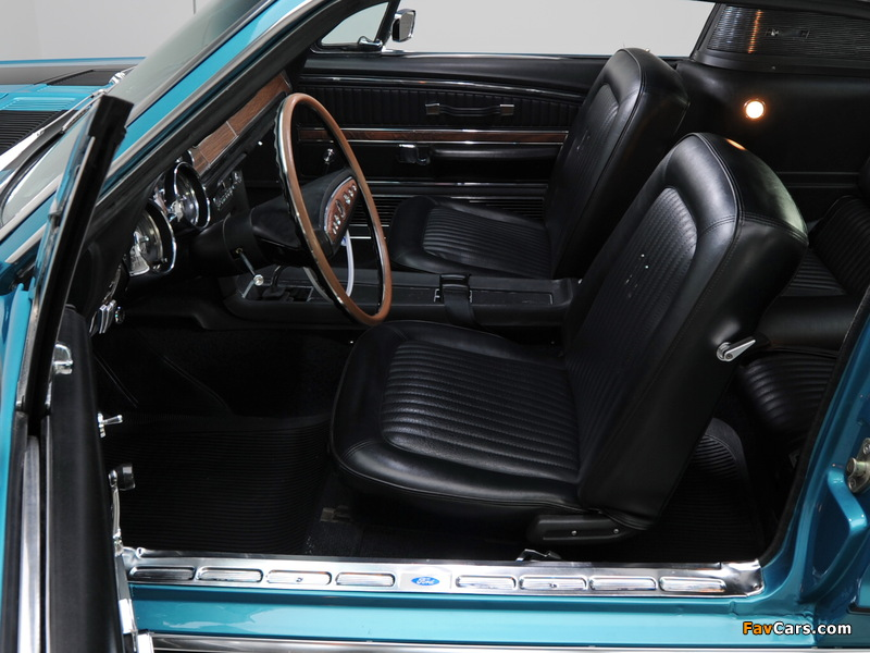 Images of Mustang GT Fastback 1968 (800 x 600)