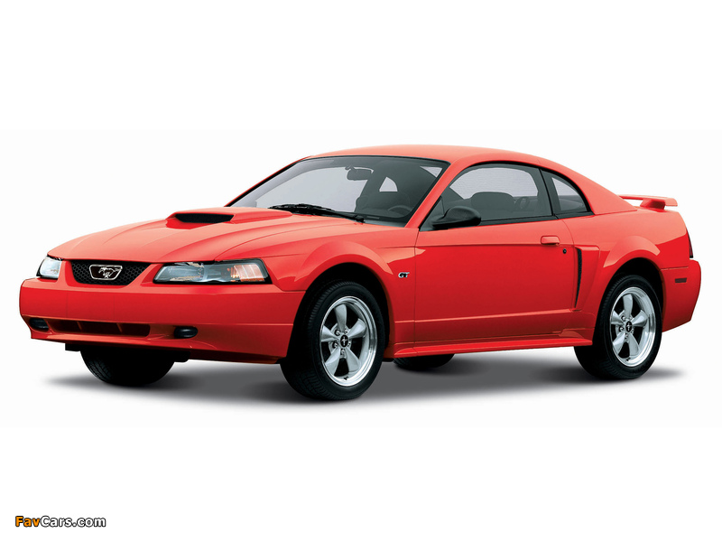 Images of Mustang GT Coupe 1998–2004 (800 x 600)