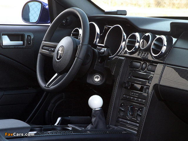 Images of Ford Shadrach Mustang GT by Pure Power Motors 2006 (640 x 480)