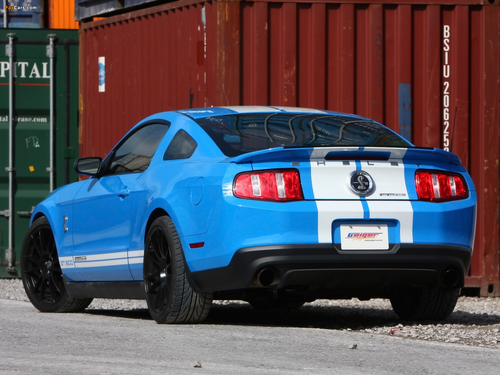 Images of Geiger Shelby GT500 2010 (1600 x 1200)