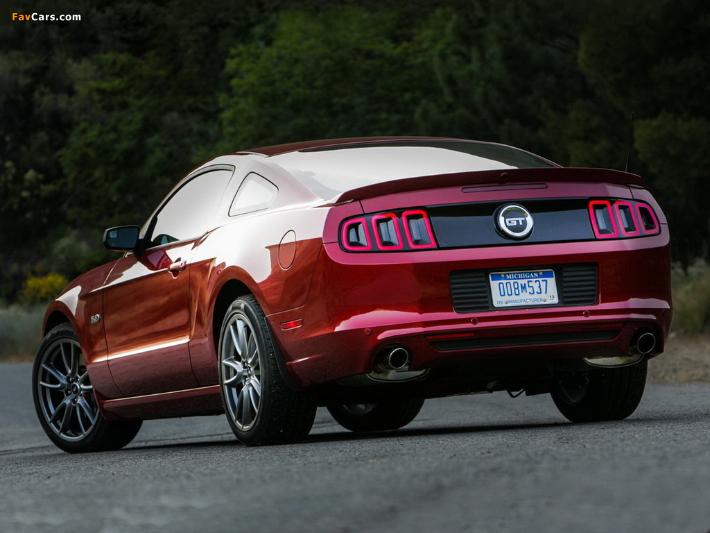 Images of Mustang 5.0 GT 2012 (1024 x 768)