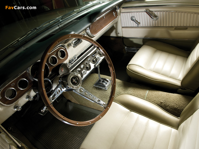 Photos of Mustang GT Coupe 1965 (640 x 480)