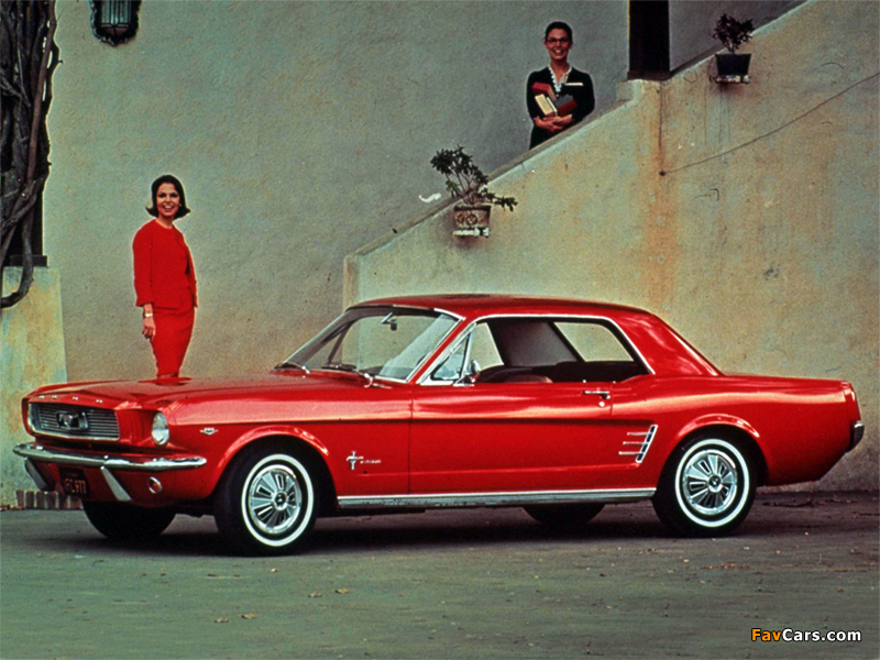 Photos of Mustang Coupe 1966 (800 x 600)