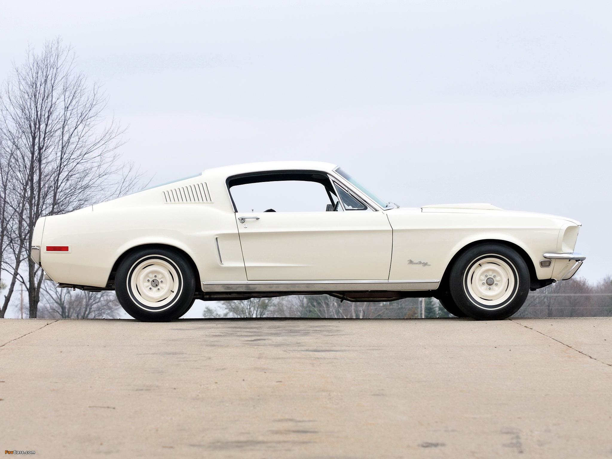 Photos of Mustang Lightweight 428/335 HP Tasca Car 1967 (2048 x 1536)