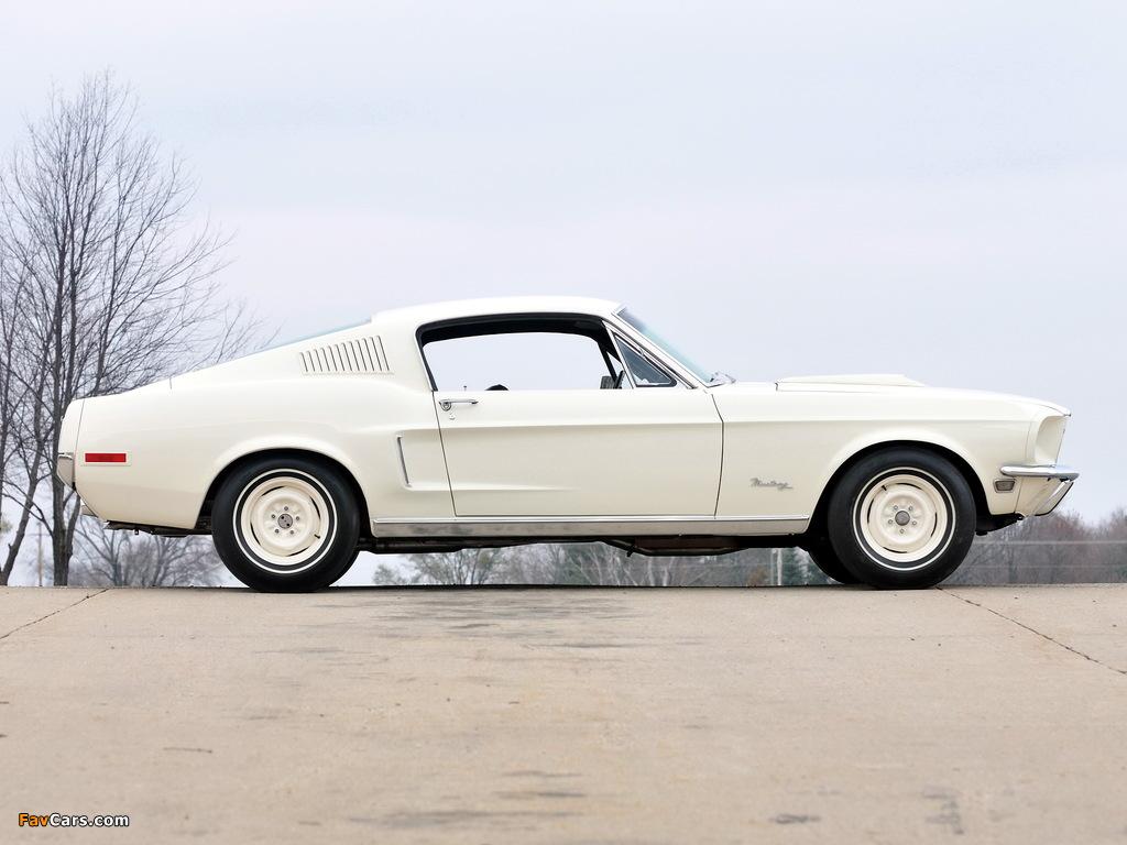 Photos of Mustang Lightweight 428/335 HP Tasca Car 1967 (1024 x 768)