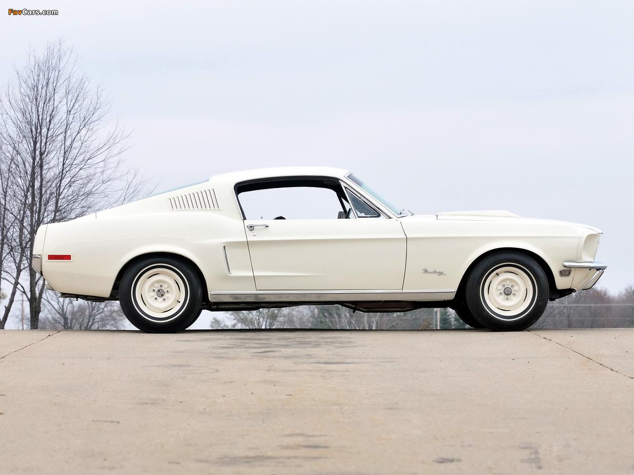 Photos of Mustang Lightweight 428/335 HP Tasca Car 1967 (1280 x 960)