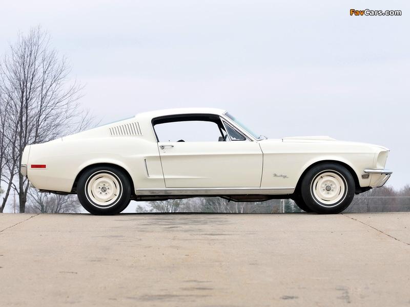 Photos of Mustang Lightweight 428/335 HP Tasca Car 1967 (800 x 600)