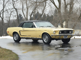 Photos of Mustang GT Convertible 1968