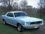 Photos of Mustang Coupe 1968