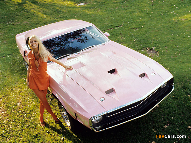 Photos of Shelby GT500 Playmate Pink 1969 (640 x 480)