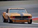 Photos of Mustang Boss 302 Trans-Am Race Car 1970