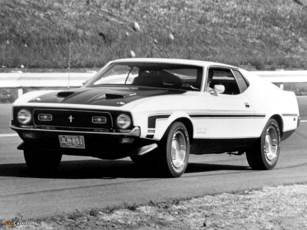 Photos of Mustang Boss 351 1971 (1024 x 768)