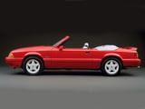 Photos of Mustang GT 5.0 Convertible 1987–93