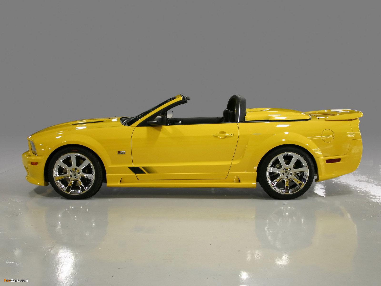 Photos of Saleen S281 Speedster 2006–08 (1600 x 1200)