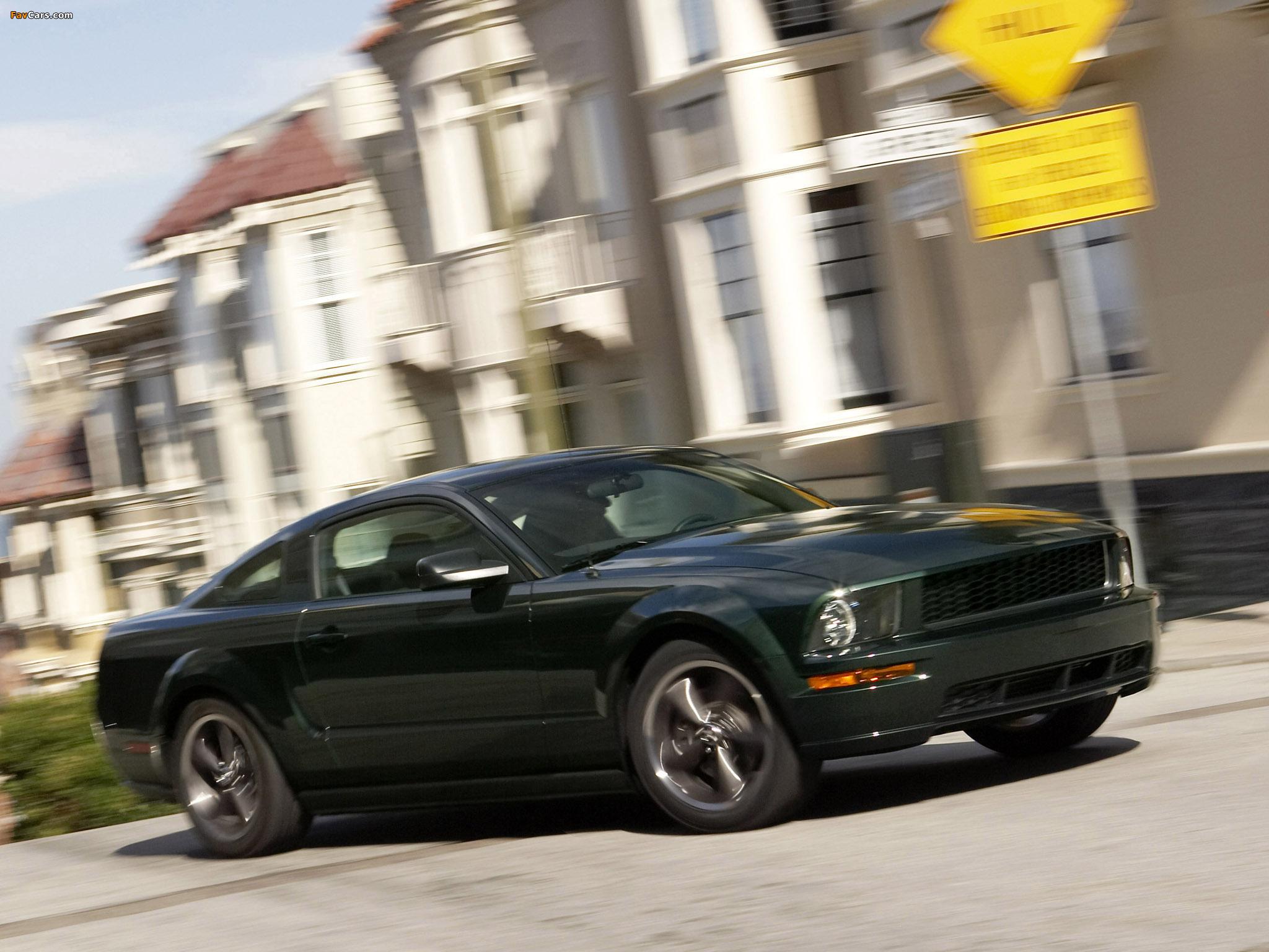 Photos of Mustang Bullitt 2008 (2048 x 1536)