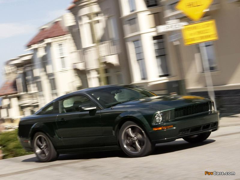 Photos of Mustang Bullitt 2008 (800 x 600)