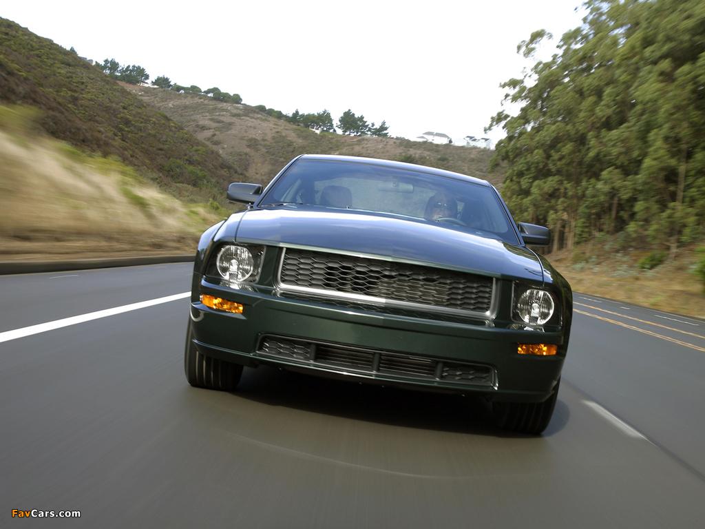 Photos of Mustang Bullitt 2008 (1024 x 768)