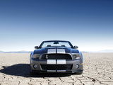 Photos of Shelby GT500 Convertible SVT 2009–10