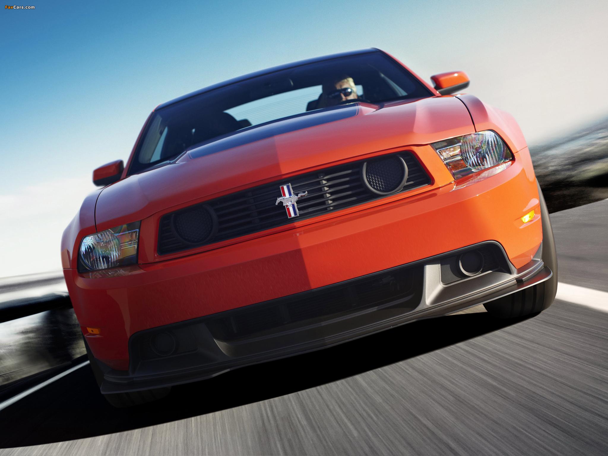 Photos of Mustang Boss 302 2011–12 (2048 x 1536)