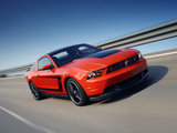 Photos of Mustang Boss 302 2011–12