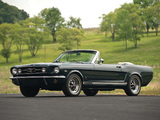 Pictures of Mustang GT Convertible 1965