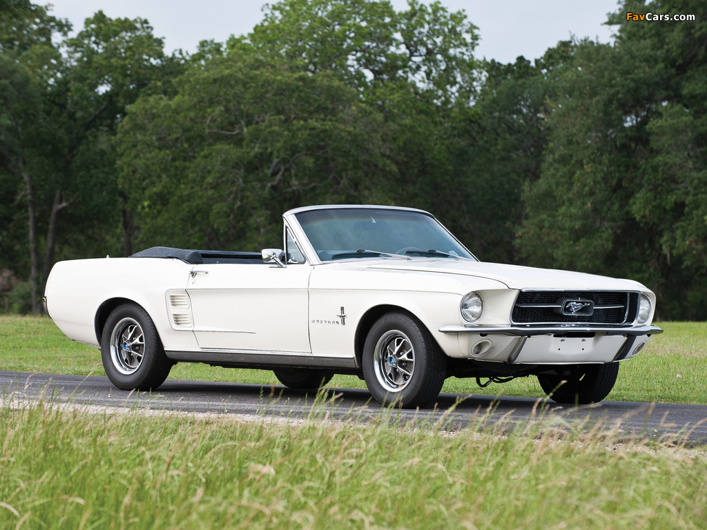 Pictures of Mustang Convertible 1967 (1024 x 768)