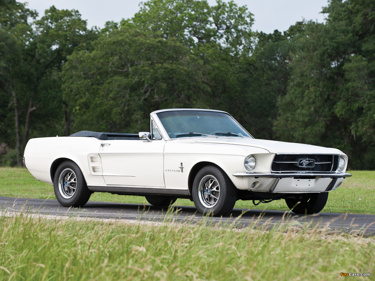 Pictures of Mustang Convertible 1967 (1280 x 960)