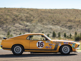Pictures of Ford Mustang Boss 302 Trans-Am Race Car 1970