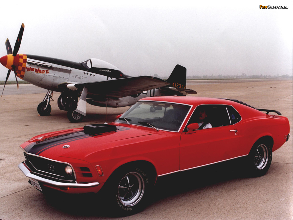 Pictures of Mustang Mach 1 1970 (1024 x 768)
