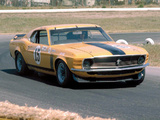 Pictures of Mustang Boss 302 Trans-Am Race Car 1970