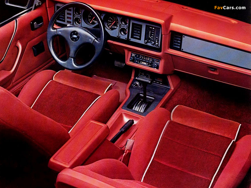 Pictures of Mustang GT 5.0 1986 (800 x 600)