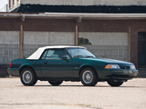 Pictures of Mustang Convertible 25th Anniversary 1990