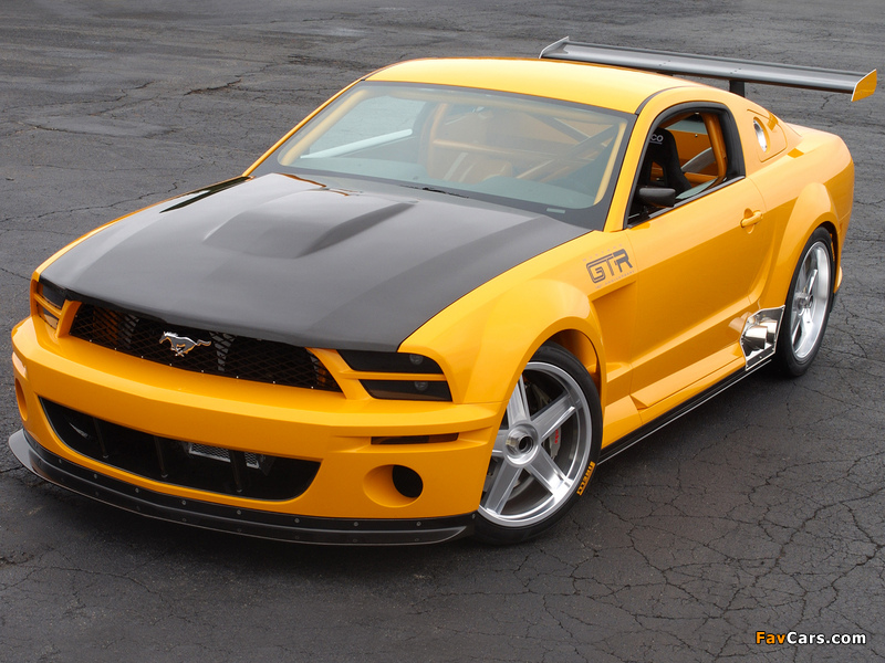 Pictures of Mustang GT-R Concept 2004 (800 x 600)