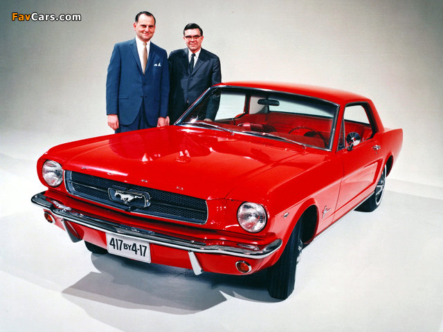 Mustang Coupe 1965 wallpapers (640 x 480)