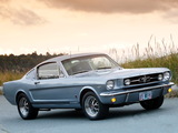 Mustang GT Fastback 1965 wallpapers