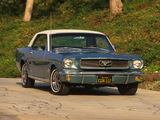 Mustang Coupe 1966 wallpapers