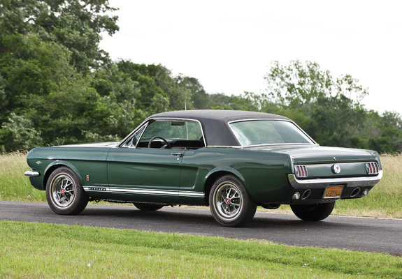 Mustang Gt Coupe 1966 Wallpapers