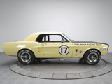 Mustang Coupe Race Car (65B) 1967 wallpapers