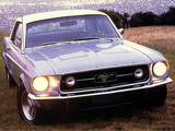 Mustang GT-A 1967 wallpapers